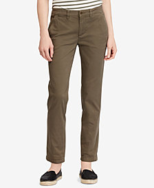 Lauren Ralph Lauren Stretch Chino Straight Pants