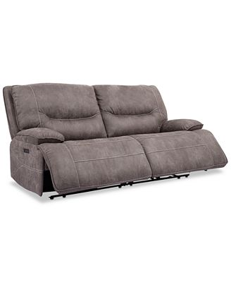 Furniture Felyx 84 2 Pc Fabric Power Reclining Sofa With 2 Power
