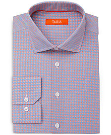 Tallia Men's Slim-Fit Micro Flower Tiles Dress Shirt