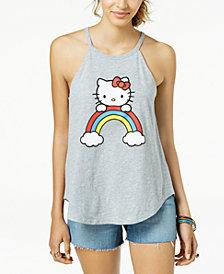 Love Tribe Juniors' Hello Kitty Graphic Swing Tank Top
