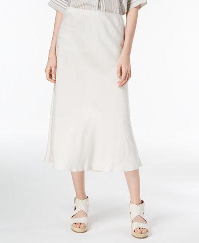 Eileen Fisher Silk Midi Skirt