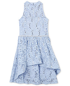 Speechless Sequin Lace Dress, Big Girls
