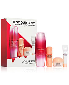 Shiseido 4-Pc. The Ultimate Night Lifting Routine Set