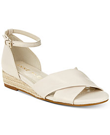 Anne Klein Nanetta Espadrille Wedge Sandals
