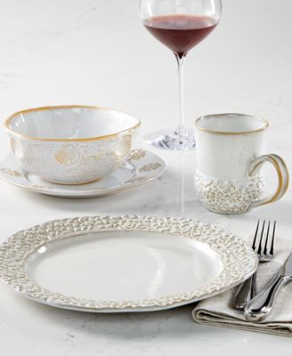 Peachy Lenox Wainwright Boho Dinnerware Collection Created For Macys Download Free Architecture Designs Lukepmadebymaigaardcom