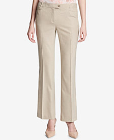 Calvin Klein Textured Modern-Fit Pants