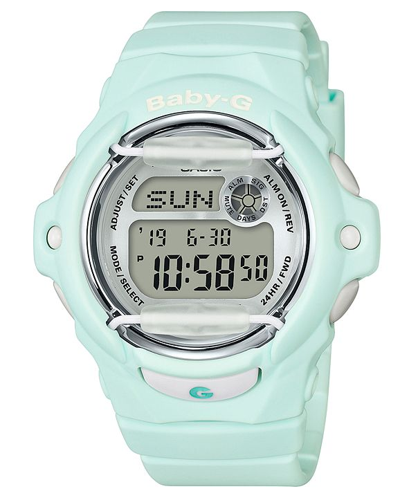 G-Shock Women's Digital Green Resin Strap Watch 42.6mm