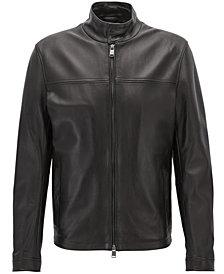BOSS Men's Nappa Leather Jacket