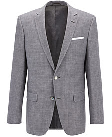 BOSS Men's Slim-Fit Basketweave Sport Coat