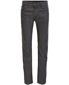 BOSS Men's Regular/Classic-Fit Stretch Pants