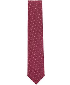 BOSS Men's Patterned Jacquard Silk Tie
