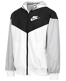 Sportswear Big Boys Wind Runner Jacket