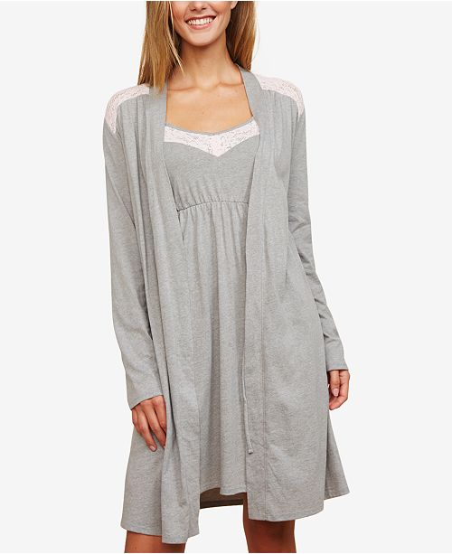 02cfa2340f2c1 Motherhood Maternity Nursing Nightgown And Robe & Reviews ...