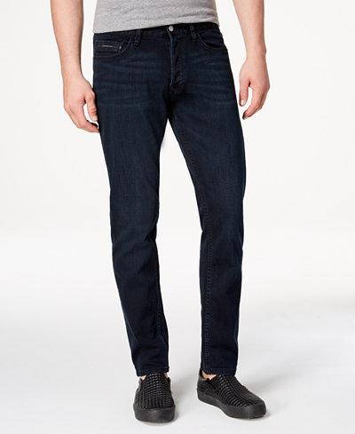 Calvin Klein Jeans Men's Slim Straight Fit Stretch Jeans