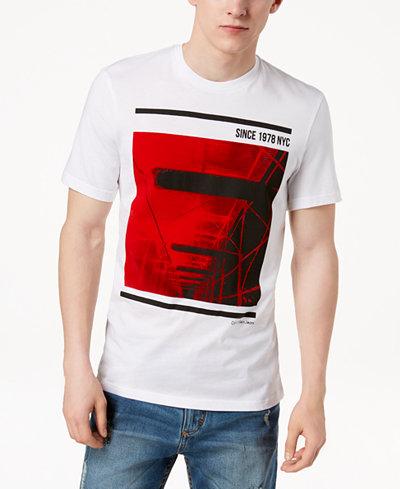 Calvin Klein Jeans Men's Graphic-Print T-Shirt