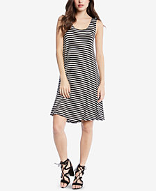 Karen Kane Striped High-Low Tank Dress