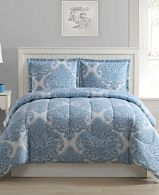 CLOSEOUT! Medallions 3-Pc. Reversible Comforter Sets, Created for Macy's