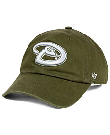 '47 Brand Arizona Diamondbacks Olive White CLEAN UP Cap