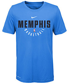 Nike Memphis Grizzlies Elite Practice T-Shirt, Big Boys (8-20)