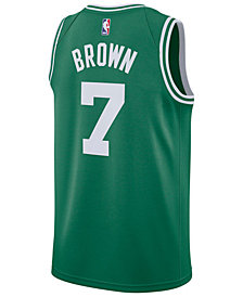 Nike Men's Jaylen Brown Boston Celtics Icon Swingman Jersey