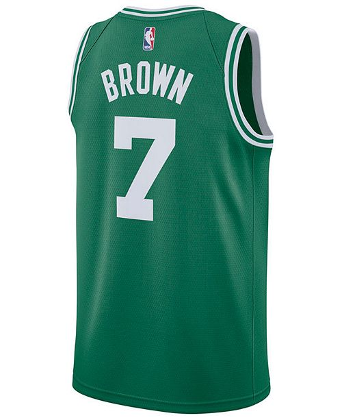 official photos a5f18 c55f7 Men's Jaylen Brown Boston Celtics Icon Swingman Jersey