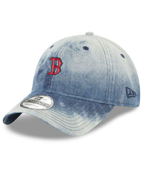 New Era Boston Red Sox Denim Wash Out 9TWENTY Cap - Sports Fan Shop ... 38a7b849b8af