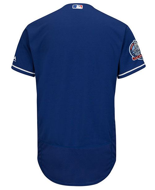 Majestic Men s Los Angeles Dodgers Flexbase 60th Anniversary Patch ... eb4dbb4416c