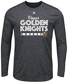Majestic Men's Vegas Golden Knights Crash the Net Long Sleeve T-Shirt