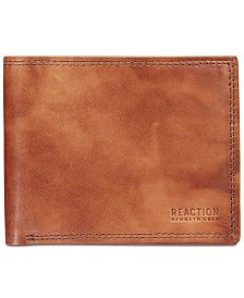 Kenneth Cole Reaction Men's Kingsway Extra-Capacity Slim Leather Wallet