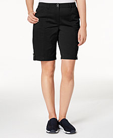 Karen Scott Utility Shorts, Created for Macy's