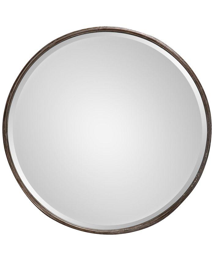 Uttermost - Nova Round Metal Mirror