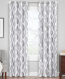 Hudson Hill Orbit Grommet Window Panels