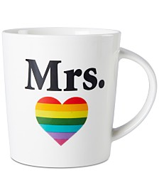 Pfaltzgraff Mrs. Heart Mug, Created for Macy's