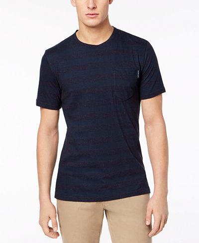Calvin Klein Jeans Men's Striped Flecked T-Shirt