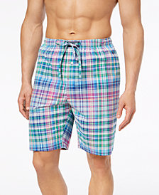 Polo Ralph Lauren Men's Woven Plaid Sleep Shorts