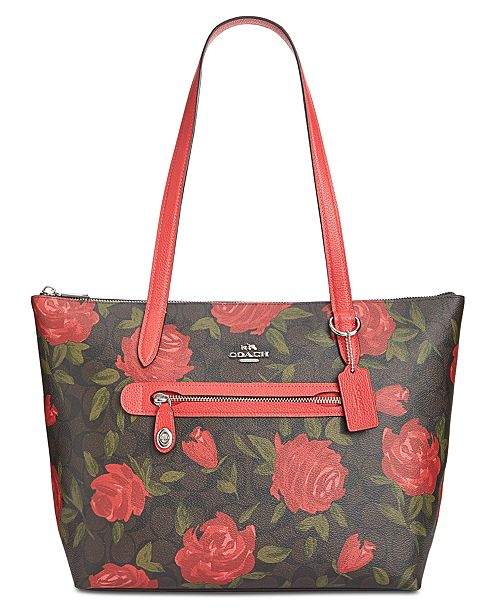 2555a560c18c COACH Camo Rose Signature Taylor Tote   Reviews - Handbags ...