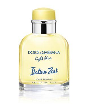 MEN'S LIGHT BLUE ITALIAN ZEST POUR HOMME EAU DE TOILETTE SPRAY, 2.5-OZ.