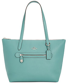 COACH Taylor Tote in Pebble Leather