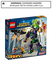 Super Heroes Lex Luthor Mech Takedown 76097