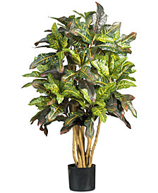Nearly Natural 3' Croton Tree