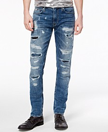 Men's Slim Tapered Fit Stretch Jeans