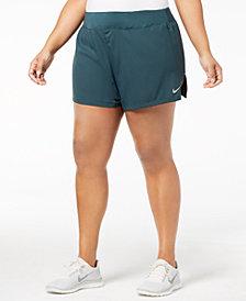 Nike Plus Size Eclipse Running Shorts