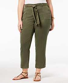 Style & Co Plus Size High-Rise Soft Pants, Created for Macy's