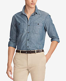 Polo Ralph Lauren Men's Classic Fit Chambray Workshirt
