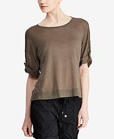 Lauren Ralph Lauren Roll-Cuff Shirt