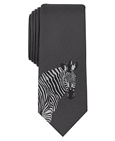 Bar III Men's Zebra Tie, Created for Macy's