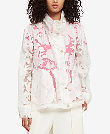 DKNY Sheer Lace Jacket, Created for Macy's