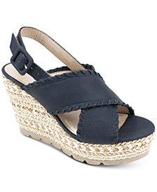 Seven Dials Alessandra Platform Espadrille Wedge Sandals