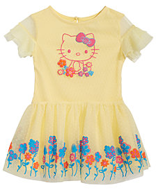 Hello Kitty Baby Girls Floral-Print Sundress