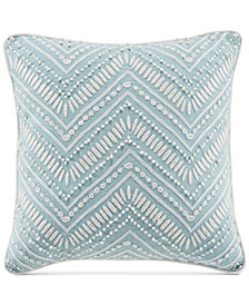"CLOSEOUT! Croscill Willa Fashion 16"" x 16"" Decorative Pillow"